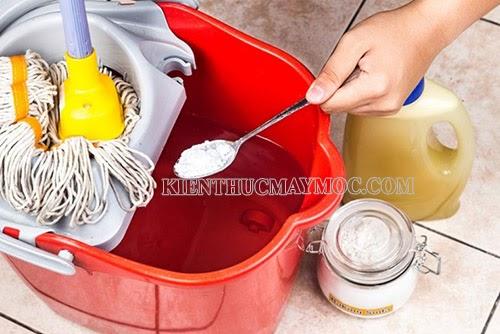 Cách lau nhà bằng Baking Soda đơn giản, hiệu quả cao