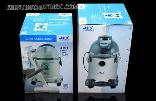 Máy vệ sinh hút bụi đa năng Anex AG 1098