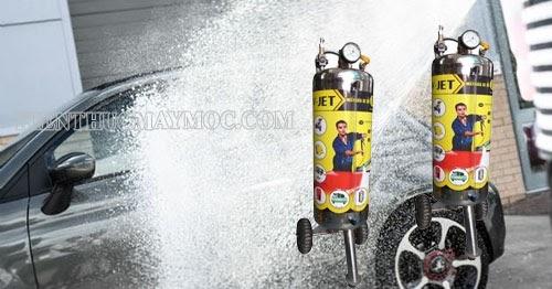 máy rửa xe bọt tuyết giá bao nhiêu