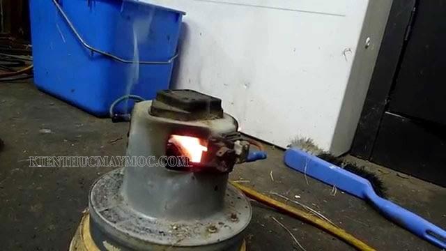 máy hút bụi nóng quá tự ngắt