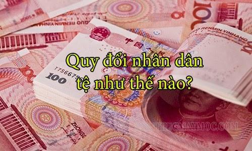 1 vạn tệ bằng bao nhiêu nghìn - Cách quy đổi tiền Trung Quốc