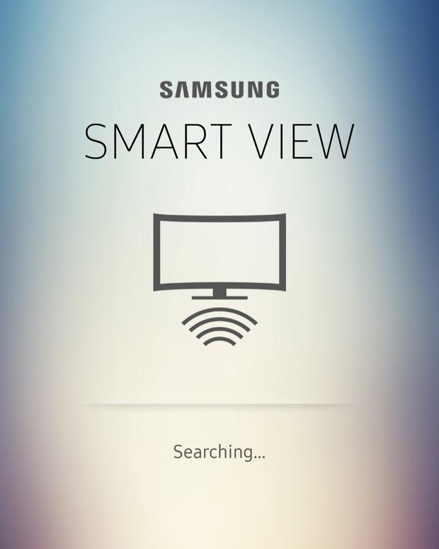 Giao diện ứng dụng điều khiển tivi Samsung