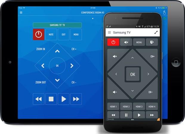 phần mềm điều khiển tivi bằng điện thoại