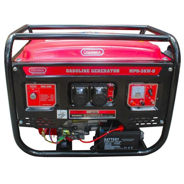 Hệ thống điều khiển của máy phát điện
