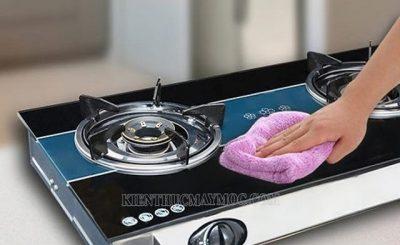 Cách làm sạch bếp gas hiệu quả nhất