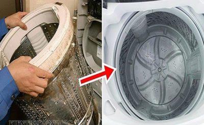 Công dụng của giấm trong vệ sinh máy giặt