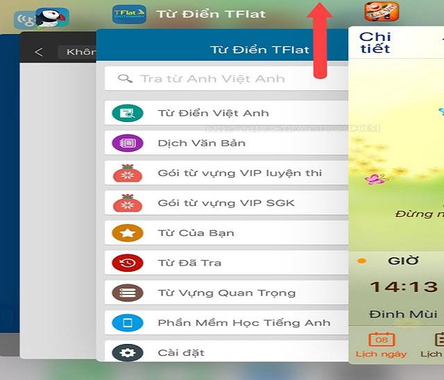 Đóng các ứng dụng chạy ngầm khi màn hình bị nhấp nháy