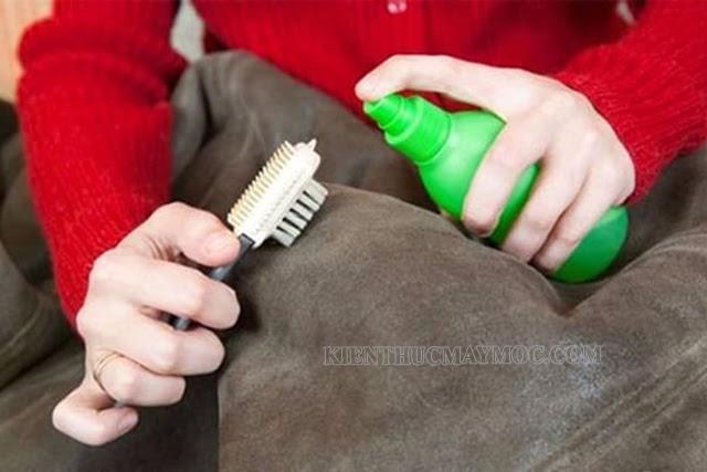 Những lưu ý khi giặt áo da lộn