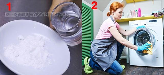 Cách vệ sinh máy giặt cửa trước bằng baking soda nhanh nhất