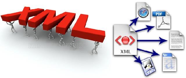 File XML được sử dụng cực kỳ phổ biến trong công việc