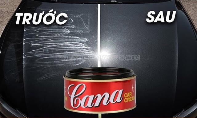 Cana là một loại hóa chất chuyên dụng dùng khi đánh bóng xe