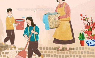 Dọn nhà ngày Tết đã trở thành một nét văn hóa của người Việt Nam