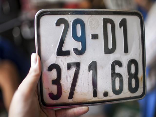 Biển số xe quyết định việc bạn có bị phạt hay không