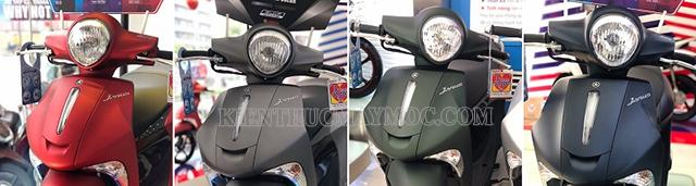 Năm 2020 là một năm có nhiều đột phá về màu sắc của dòng xe Janus Yamaha