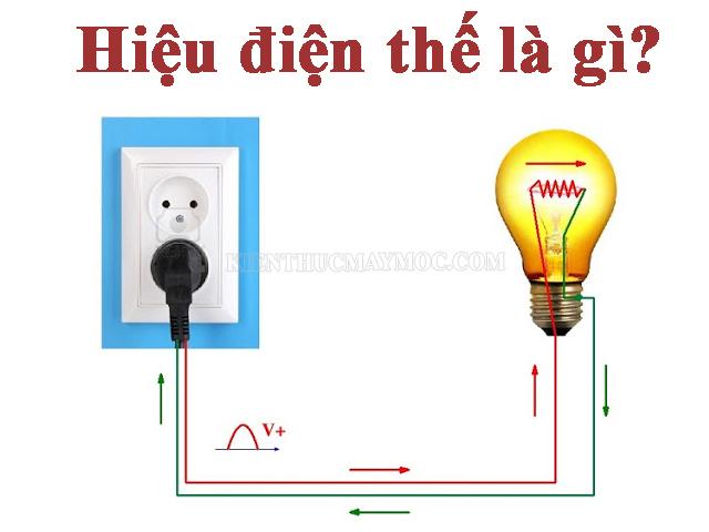 Khái niệm hiệu điện thế là gì?