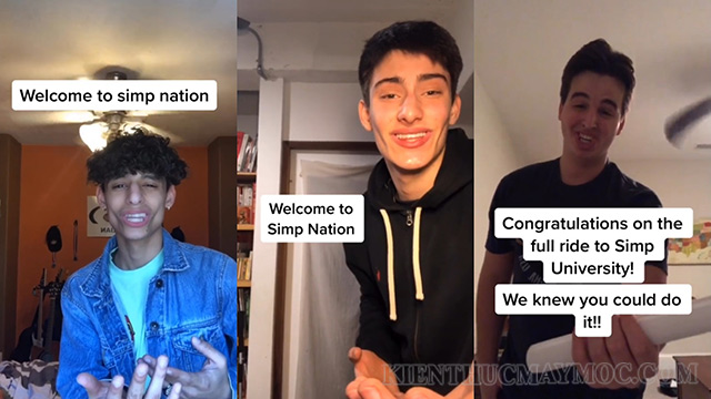 "Video ""Welcome to Simp Nation"" của TikToker Marco Borghi"