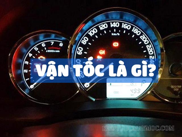 công thức tính vận tốc là gì