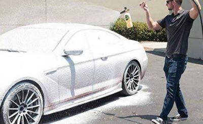 có nên rửa xe không chạm