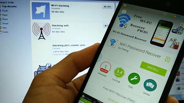Tìm hiểu cách hack mật khẩu Wifi trên điện thoại