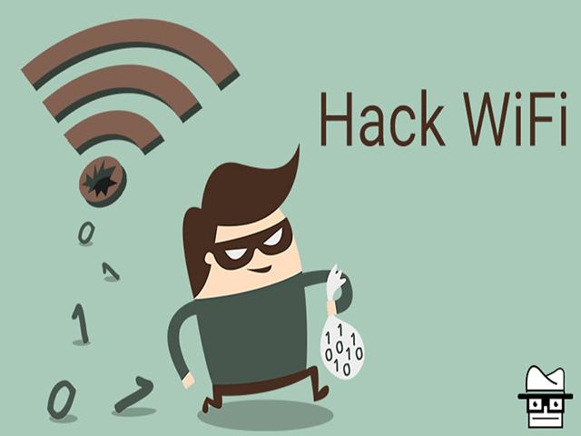 Cách hack wifi không cần mật khẩu